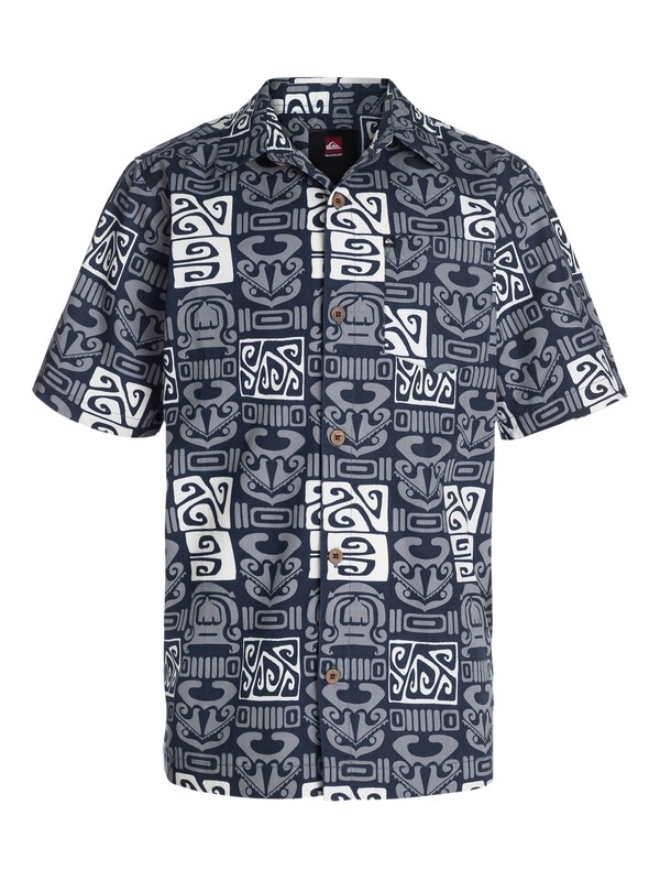 0 Boys 8-16 Ohu Short Sleeve Shirt  40464142 Quiksilver