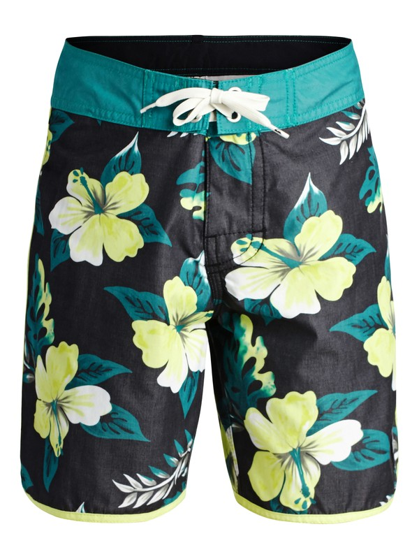 0 Boys 8-16 OG Scallop Prints Boardshorts  40465028 Quiksilver