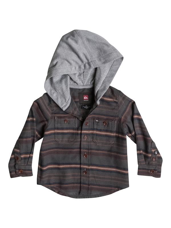0 Baby Pelican Flannel Shirt  40474094 Quiksilver