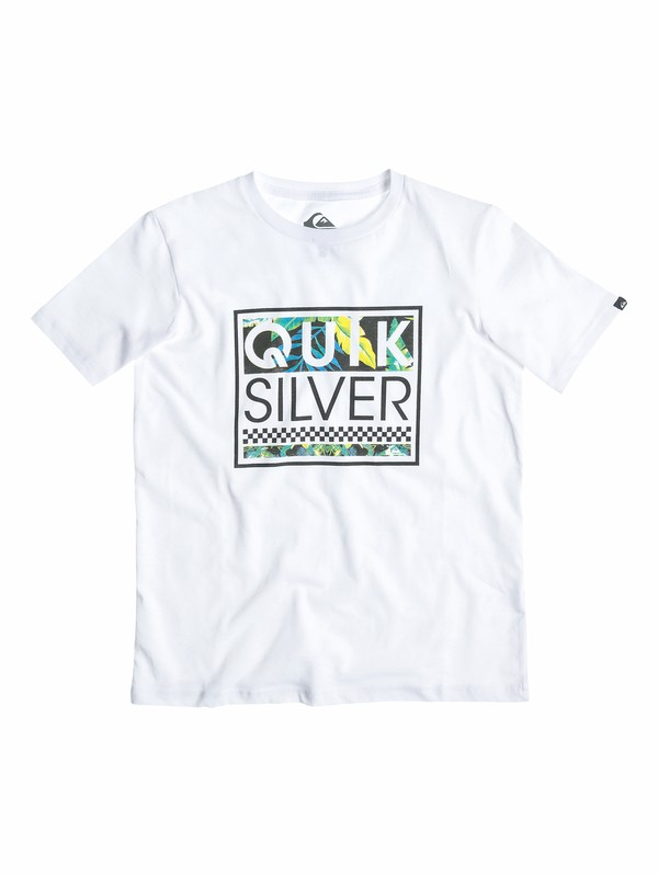 0 Boys 2-4 Blockhead Yardage T-Shirt  40544024 Quiksilver