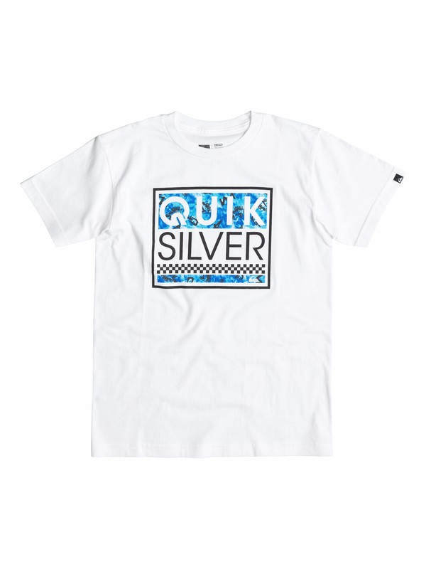 0 Boys 2-4 Blockhead Ghetto T-Shirt  40544200 Quiksilver