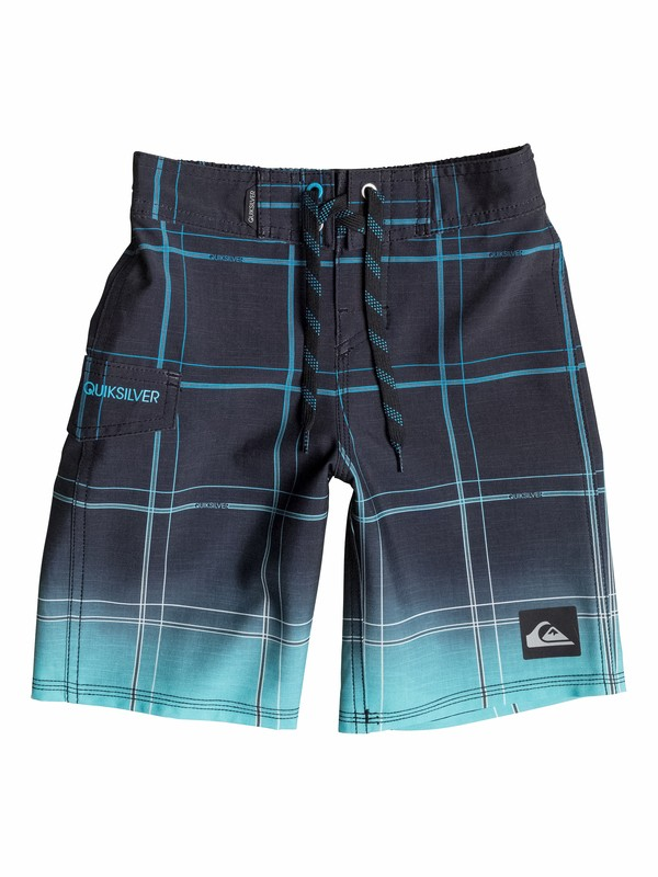 0 Boys 2-4 Electric Space Boardshorts  40545003 Quiksilver