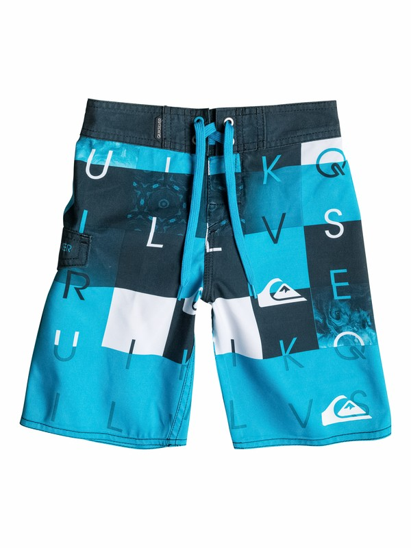 0 Boys 2-4 Checkmate Boardshorts  40545006 Quiksilver