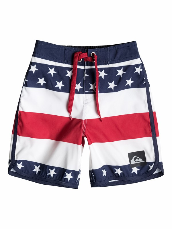 0 Boys 2-4 40Oz Of July Boardshorts  40545086 Quiksilver