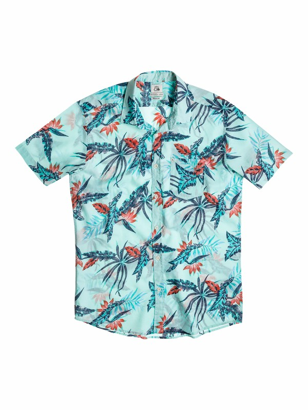 0 Boys 4-7 Everyday Print Short Sleeve Shirt  40554050 Quiksilver