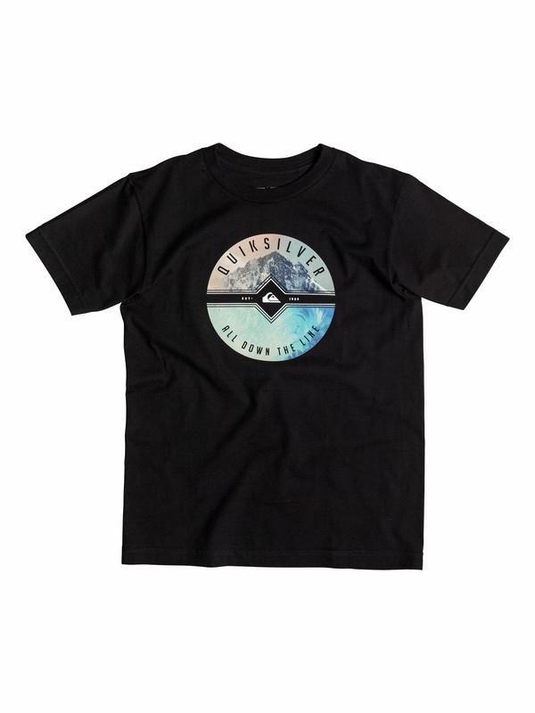 0 Boys 4-7 Twin Peaks T-Shirt  40554143 Quiksilver