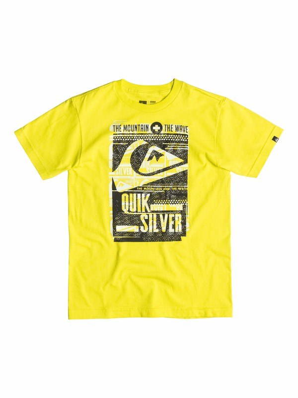 0 Boys 4-7 Save Waves T-Shirt  40554149 Quiksilver