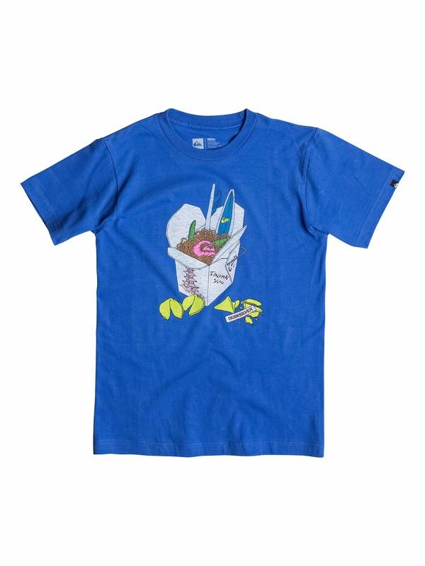 0 Boys 4-7 Takeout T-Shirt  40554151 Quiksilver