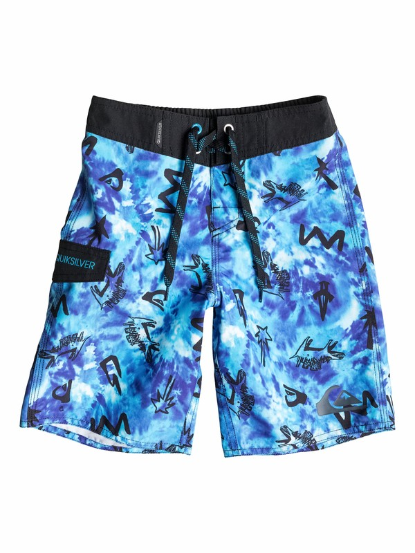 0 Boys 4-7 Ghetto City Boardshorts  40555084 Quiksilver