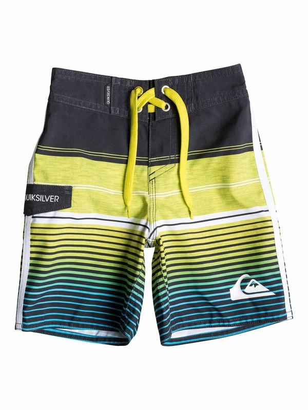 0 Boys 4-7 Vertigo Stripe Boardshorts  40555085 Quiksilver