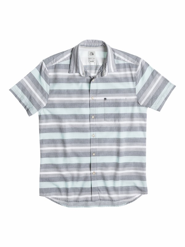 0 Boys 8-16 Pemberton Short Sleeve Shirt  40564011 Quiksilver