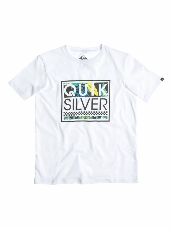0 Boys 8-16 Blockhead Yardage T-Shirt  40564024 Quiksilver