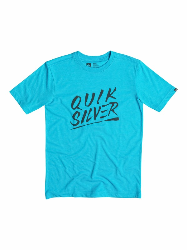 0 Boys 8-16 Slash Script T-Shirt  40564025 Quiksilver