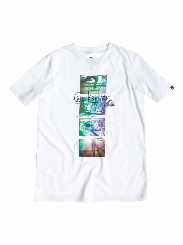 0 Boys 8-16 Street Smart T-Shirt  40564069 Quiksilver