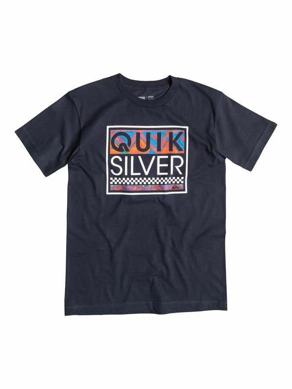0 Boys 8-16 Blockout T-Shirt  40564073 Quiksilver