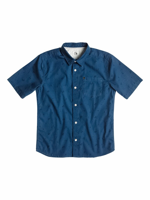 0 Boys 8-16 Hexum Short Sleeve Shirt  40564085 Quiksilver