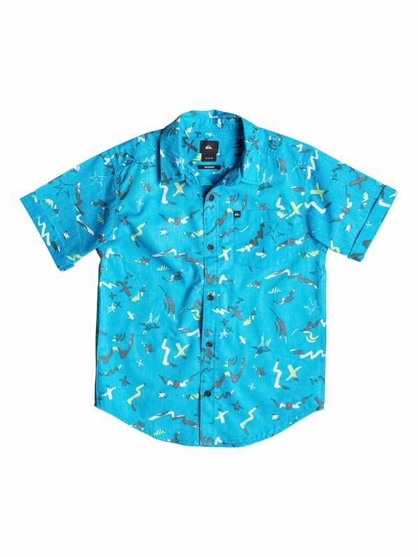 0 Boys 8-16 Warsplash Reverse Shirt  40564134 Quiksilver