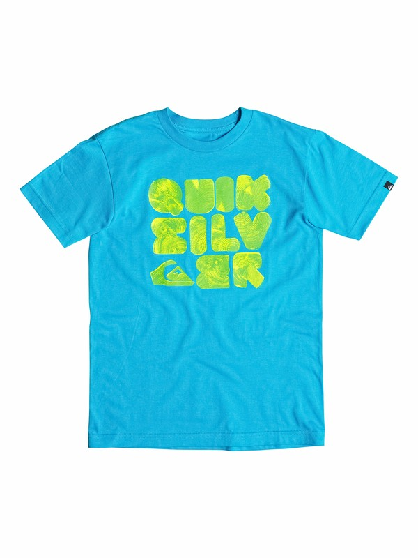 0 Boys 8-16 Woody T-Shirt  40564169 Quiksilver