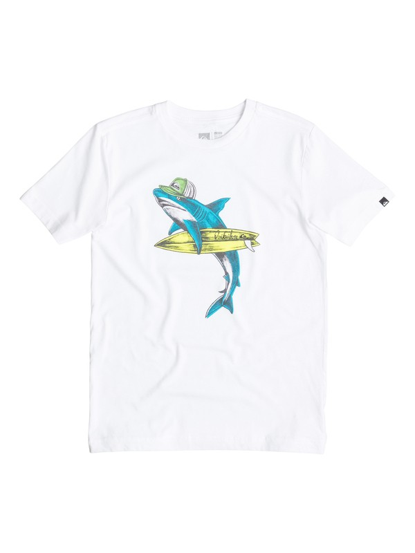 0 Boys 8-16 Sharky T-Shirt  40564170 Quiksilver
