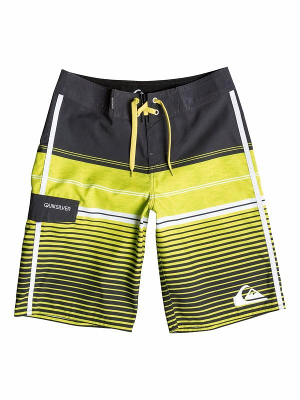 0 Boys 8-16 Vertigo Stripe Boardshorts  40565085 Quiksilver