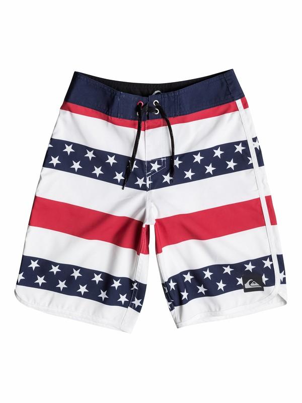 0 Boys 8-16 40 Oz Of July Boardshorts  40565086 Quiksilver