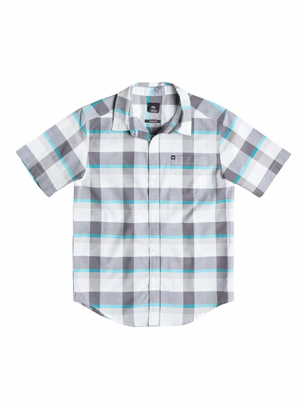 0 Baby Grebe Redux Short Sleeve Shirt  40574018 Quiksilver