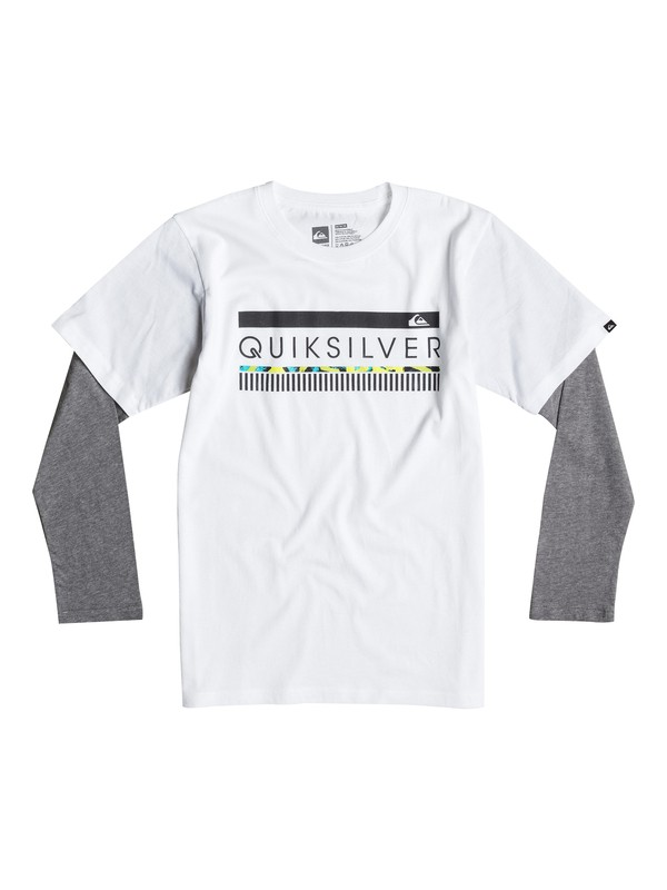 0 Boys 2-4 In The Zone Tee  40644025 Quiksilver