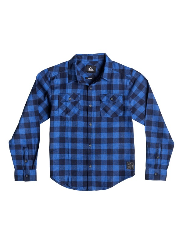 0 Boys 2-4 Motherfly Long Sleeve Flannel Shirt  40644029 Quiksilver