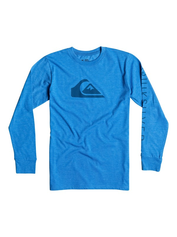 0 Boys 2-4 Logo Long Sleeve T-Shirt  40644050 Quiksilver