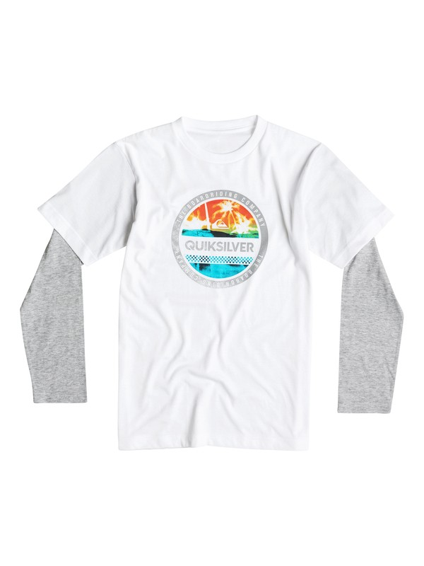 0 Boys 2-4 Filled In Long Sleeve T-Shirt  40644148 Quiksilver