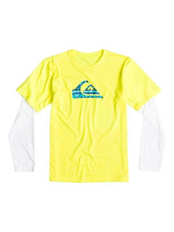 0 Boys 2-4 Flave Long Sleeve T-Shirt  40644149 Quiksilver