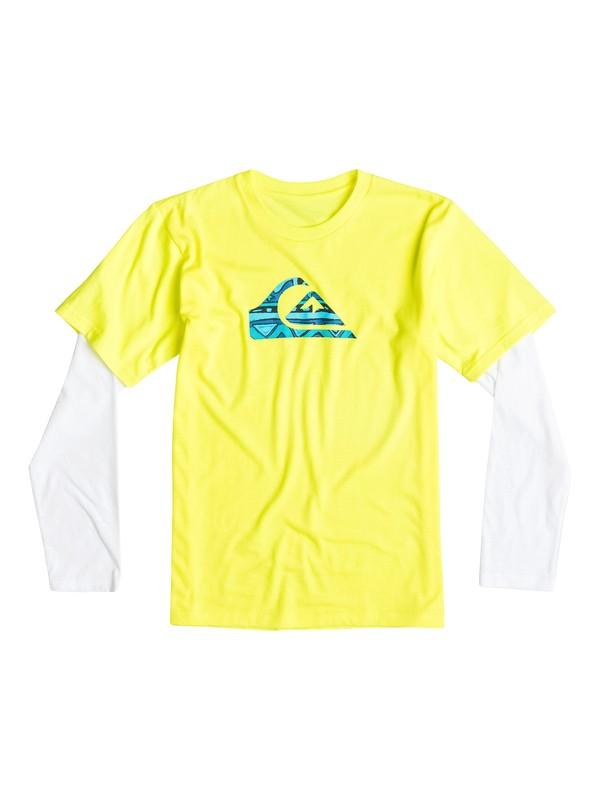 0 Boys 2-4 Flave Long Sleeve T-Shirt  40644149 Quiksilver