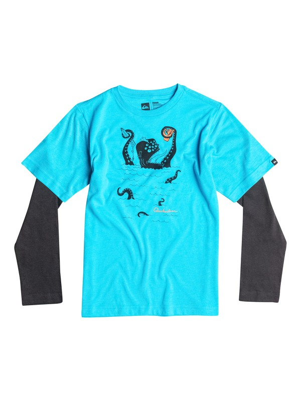 0 Boys 2-4 Sea Monster Long Sleeve T-Shirt  40644150 Quiksilver