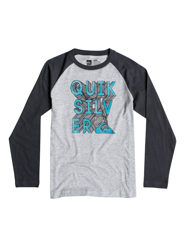 0 Boys 2-4 3D-Ish Long Sleeve T-Shirt  40644194 Quiksilver
