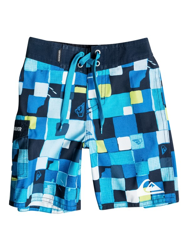 0 Boys 2-4 Double Checked Boardshorts  40645039 Quiksilver
