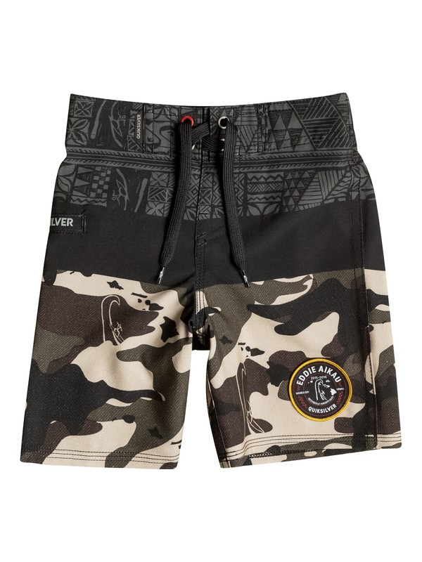 0 Boys 2-4 Sunset Eddie Boardshorts  40645050 Quiksilver