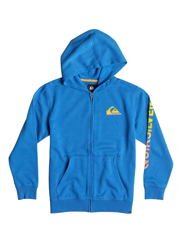0 Sudadera Zip Everyday Blend - Niños 4 -7  40654004 Quiksilver