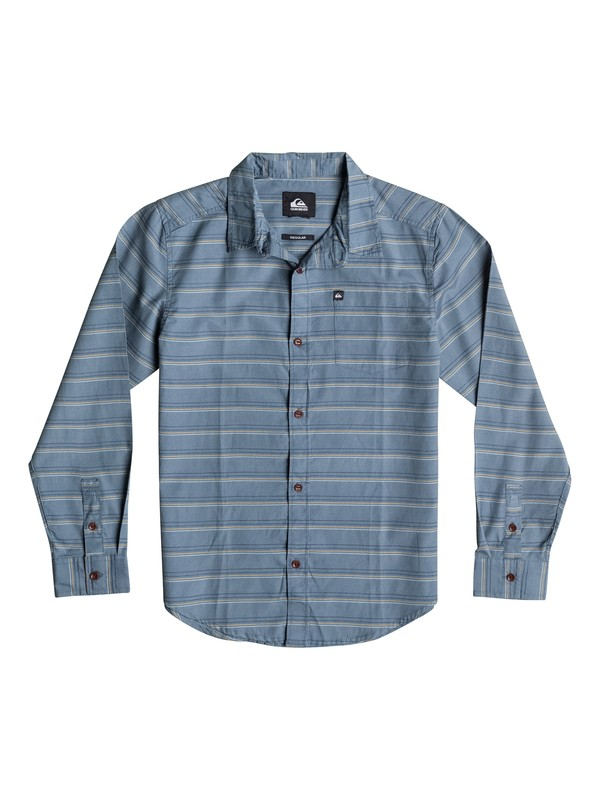 0 Boys 4-7 Fletcher Stripe Long Sleeve Shirt  40654032 Quiksilver