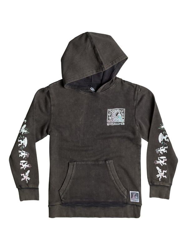 0 Boys 4-7 War Paint Pullover Sweatshirt  40654037 Quiksilver