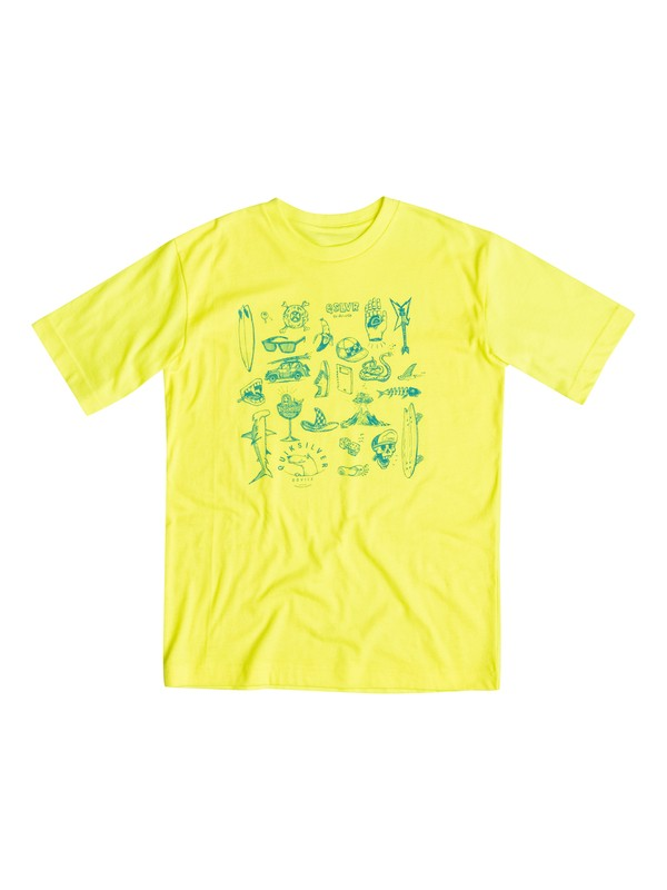0 Boys 4-7 Essential T-Shirt  40654058 Quiksilver