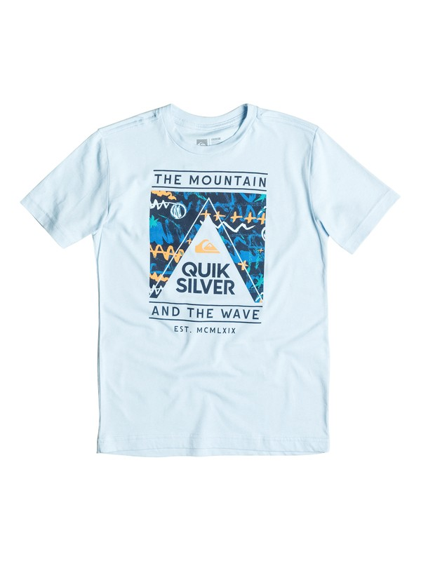 0 Boys 4-7 Wave Core Tee  40654067 Quiksilver