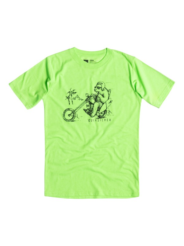 0 Boys 4-7 Bear Chopper Tee  40654082 Quiksilver