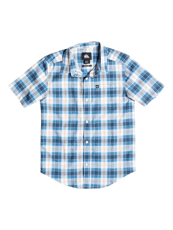 0 Boys 4-7 Patman Short Sleeve Shirt  40654138 Quiksilver