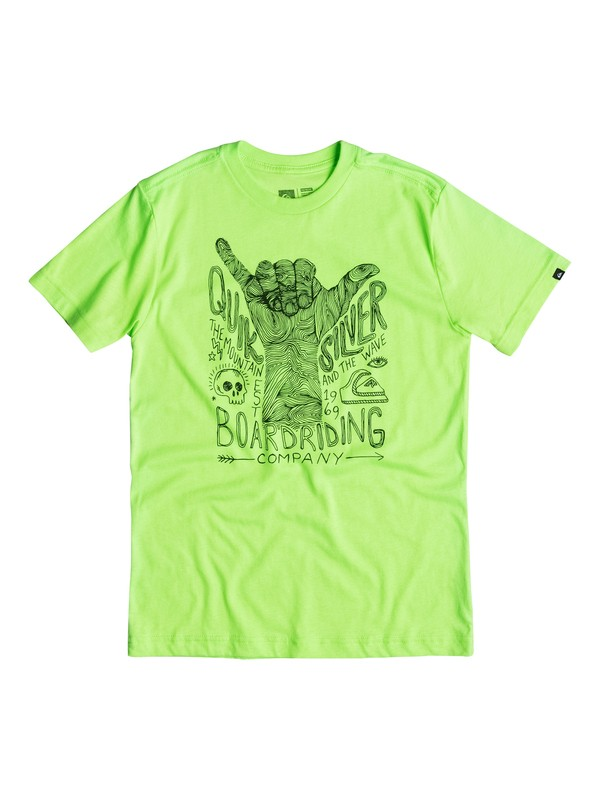 0 Boys 4-7 Shaka T-Shirt  40654186 Quiksilver