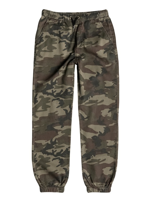 0 Boys 4-7 Fonz Camo Pants  40655009 Quiksilver