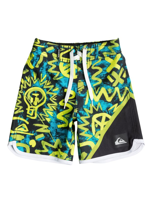 0 Boys 4-7 New Wave Cave Rave Boardshorts  40655015 Quiksilver