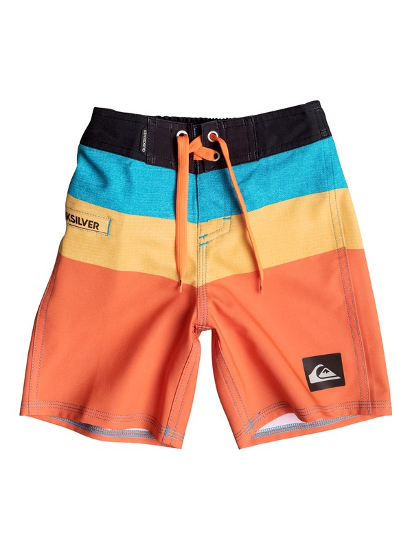0 Boys 4-7 Sunset Futures Boardshorts  40655036 Quiksilver