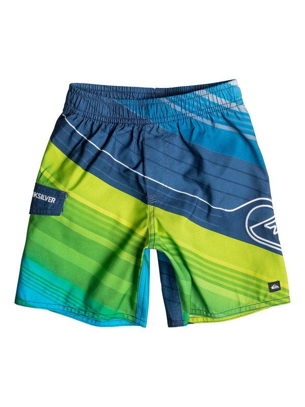 0 Boys 4-7 Rangled Boardshorts  40655041 Quiksilver