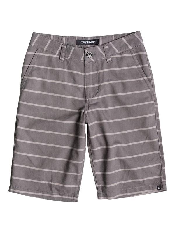 0 Boys 4-7 Everyday Oxford Stripe Shorts  40655046 Quiksilver