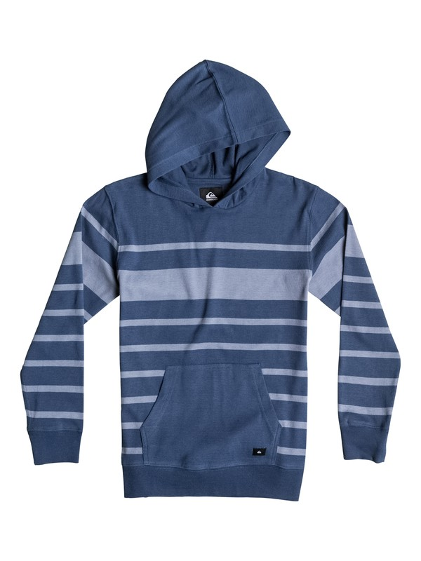0 Boys 8-16 Snit Stripe Pullover Hoodie  40664014 Quiksilver